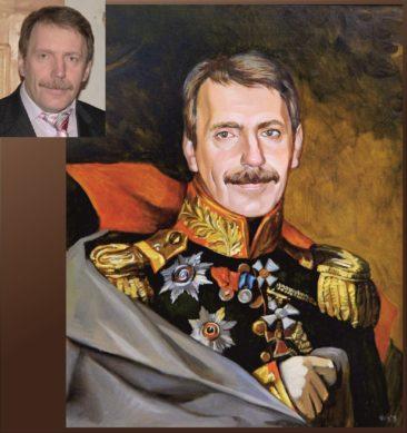 Настоящий портрет маслом на заказ во Владикавказе…