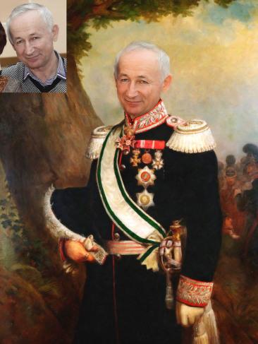 Где заказать исторический портрет по фото на холсте во Владикавказе?