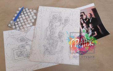 Картина по номерам по фото, портреты на холсте и дереве во Владикавказе