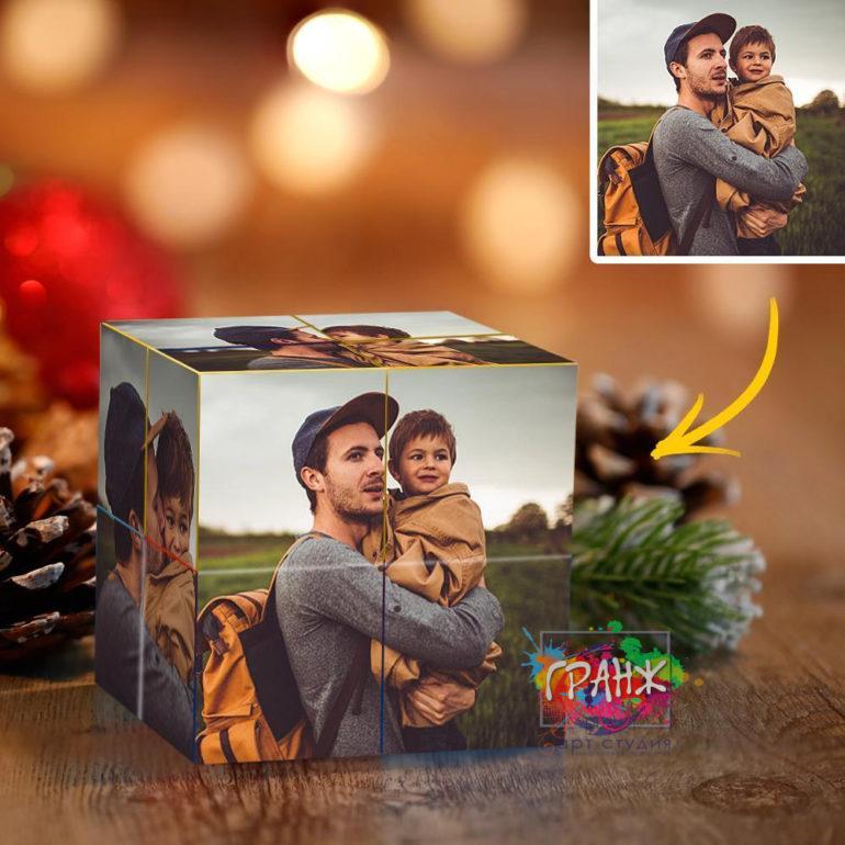 Фотокубик трансформер, купить в подарок Владикавказ